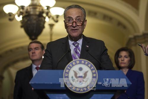 Senat AS mengesahkan RUU mengenai pengenaan sanksi terhadap Rusia, Iran dan RDRK - ảnh 1