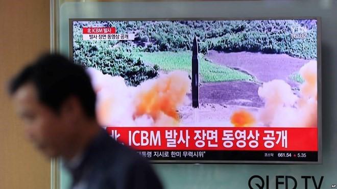 DK PBB bisa mengadakan pertemuan darurat  mengenai peluncuran rudah balistik interkontinental RDRK - ảnh 1