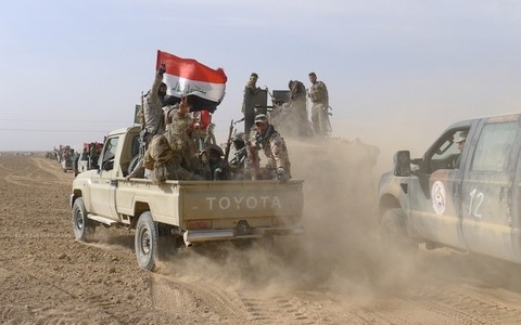 Irak mencanangkan operasi membebaskan kotamadya Tal Afar dari tangan  IS - ảnh 1