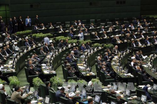 "Legislator Iran menyepakati satu garis besar  membalas "" tindakan teor"" dari AS - ảnh 1"