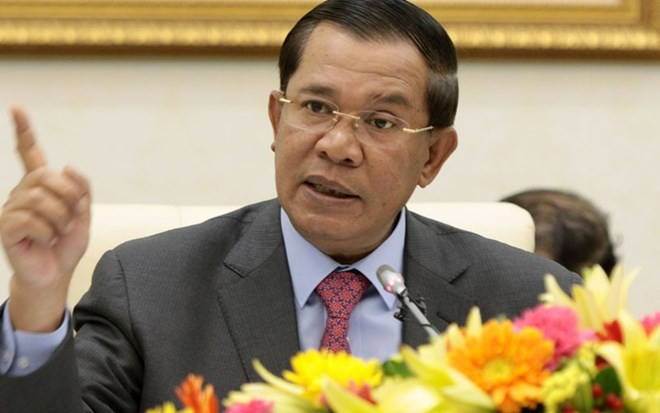 PM Kamboja menetapkan waktu penyelenggaraan pemilu - ảnh 1