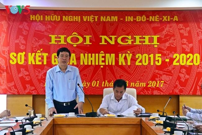 Konferensi evaluasi sementara sela masa bakti 2015-2020 VIFA angkatan III - ảnh 1