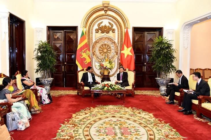 Membawa nilai perdagangan Vietnam – Sri Lanka mencapai lebih dari 1 miliar USD - ảnh 1