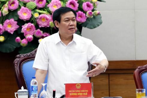 Deputi PM Vuong Dinh Hue memimpin Sidang Badan Pengarahan Pusat tentang program-program target nasional - ảnh 1