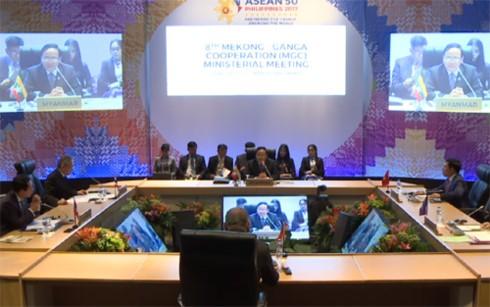 AMM50: Konferensi ke-8 MenluKerjasama Mekong- Sungai Ganga - ảnh 1