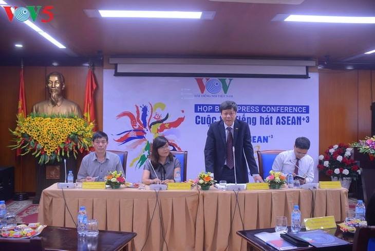 VOV menyelenggarakan Kontes Menyanyi ASEAN+3 - ảnh 1