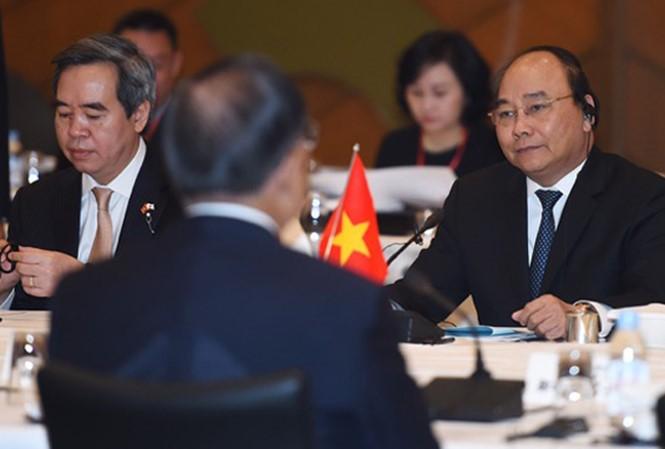 PM Nguyen Xuan Phuc menerima Direktur Jenderal Perusahaan Tokyo Gas - ảnh 1