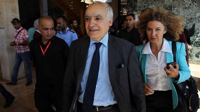 PBB dan Liga Arab mendorong dialog politik di Libia - ảnh 1