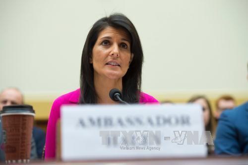 AS memberikan reaksi kepada Iran yang bersedia meninggalkan permufakatan nuklir.  - ảnh 1