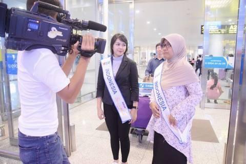"""Para penyanyi Indonesia menghadiri Kontes  """"Nyanyian ASEAN+3"""" - ảnh 2"""