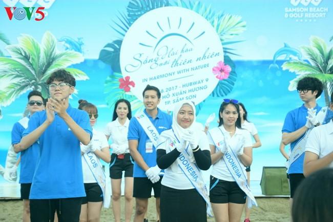 """Ekstra kurikuler yang dijalankan para  kontestan """"Nyanyian ASEAN+3""""- 2017  - ảnh 5"""