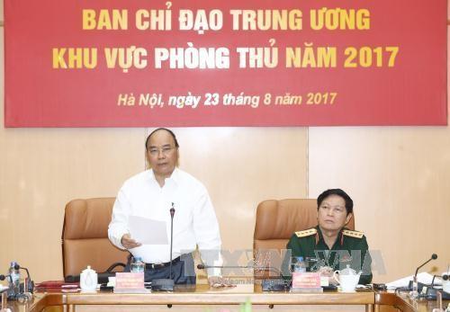 PM Nguyen Xuan Phuc menghadiri Konferensi pertama Badan pengarahan pusat tentang Kawasan Defensif - ảnh 1