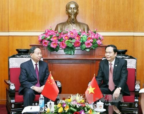 Memperkuat kerjasama antara Front Tanah Air Vietnam dan Majelis Permusyawaratan Politik Rakyat - ảnh 1