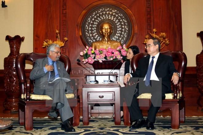 Kota Ho Chi Minh dan  UNDP di Vietnam memperkuat kerjasama - ảnh 1