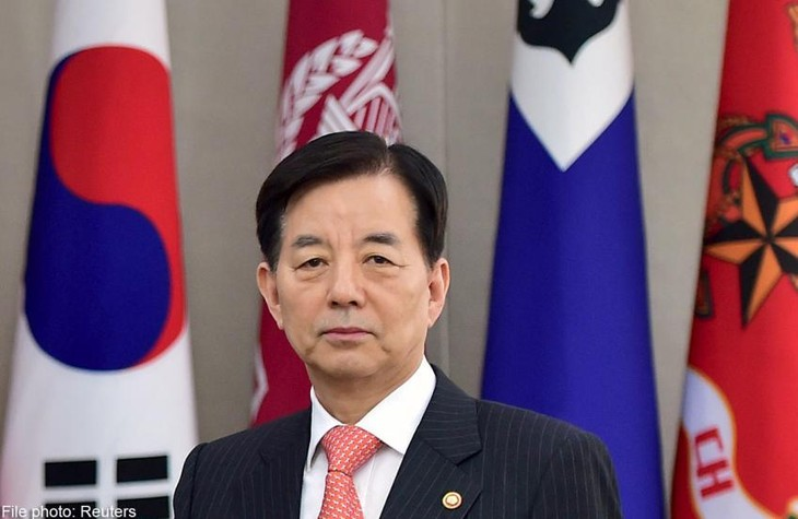 Republik Korea menolak kemungkinan menggelarkan kembali senjata nuklir dari AS - ảnh 1