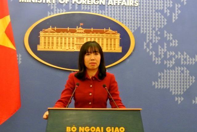 Reaksi Vietnam tentang masalah Laut Timur dan peluncuran rudal balistik oleh RDRK - ảnh 1
