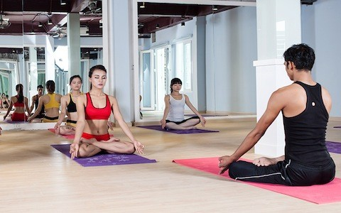 """Pusat Kebudayaan India di Kota Hanoi menyelenggarakan Lokakarya """"Yoga Hidup Sehat"""" - ảnh 1"""