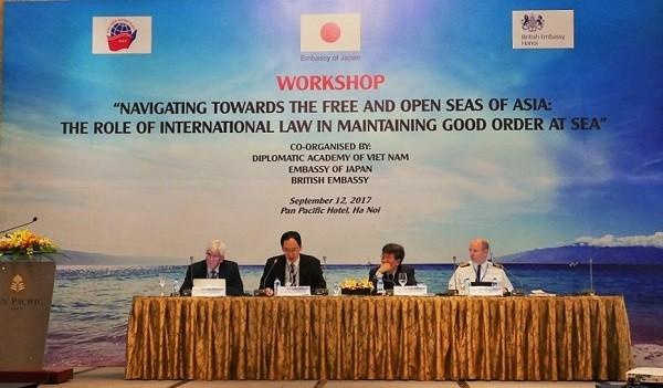 Hukum internasional memainkan peranan  penting dalam mempertahankan perdamaian di Asia - ảnh 1