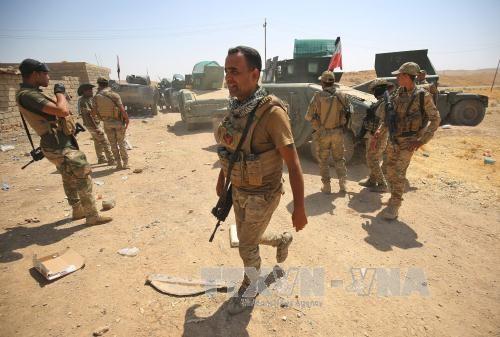 Tentara Irak mendapatkan lagi kemajuan baru di medan perang melawan IS - ảnh 1