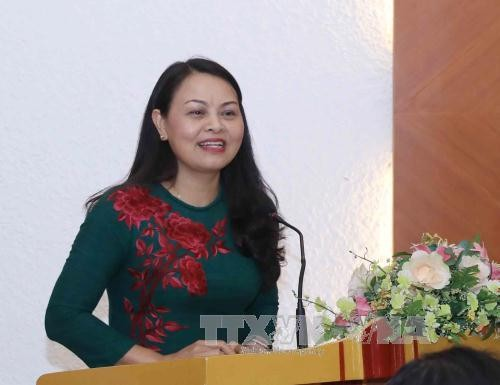 50 tahun hubungan Vietnam-Kamboja : memperkuat kerjasama antara Federasi Wanita dua negara - ảnh 1