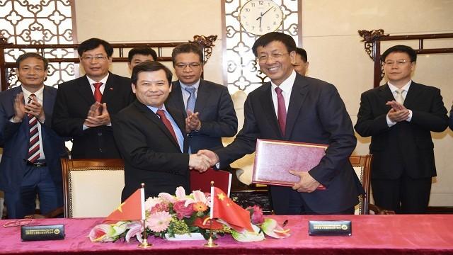 Delegasi tingkat tinggi Kejaksaan Agung Rakyat Vietnam melakukan kunjungan di Tiongkok - ảnh 1