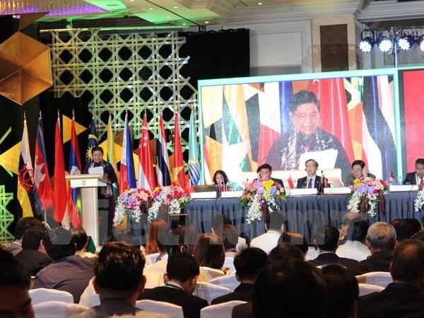 Vietnam mengusulkan gagasan untuk memperkuat lebih lanjut lagi peranan AIPA - ảnh 1