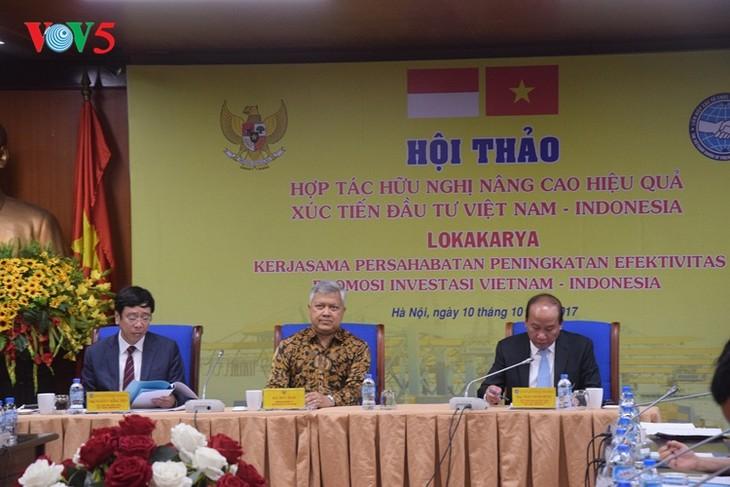 Meningkatkan efektivitas kerjasama investasi Vietnam-Indonesia - ảnh 1