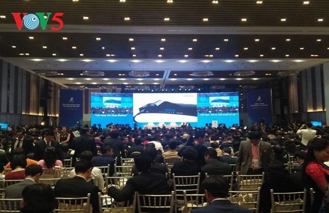 Pembukaan Konferensi  Tingkat Tinggi Bisnis Vietnam - ảnh 1