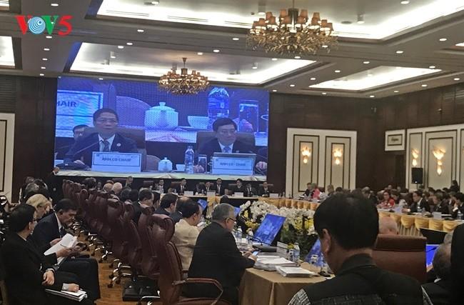 Pembukaan Konferensi ke-29 AntarMenlu-Menteri Ekonomi APEC (AMM 29) - ảnh 1