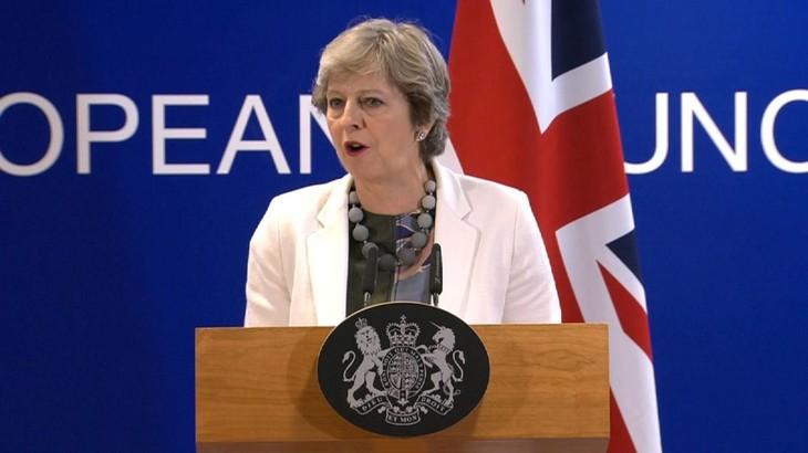 Pemerintah Inggris mengatasi tantangan pertama tentang amandemen RUU mengenai Brexit - ảnh 1