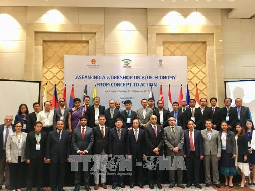 Lokakarya ASEAN-India tentang Ekonomi laut biru: Dari  argumentasi sampai aksi - ảnh 1