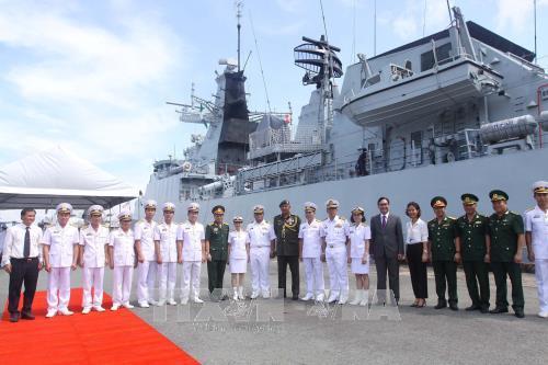 Kapal Angkatan Laut Kerajaan Malaysia mengunjungi Kota Ho Chi Minh - ảnh 1