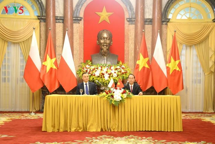 Pernyataan Bersama Vietnam-Polandia - ảnh 1