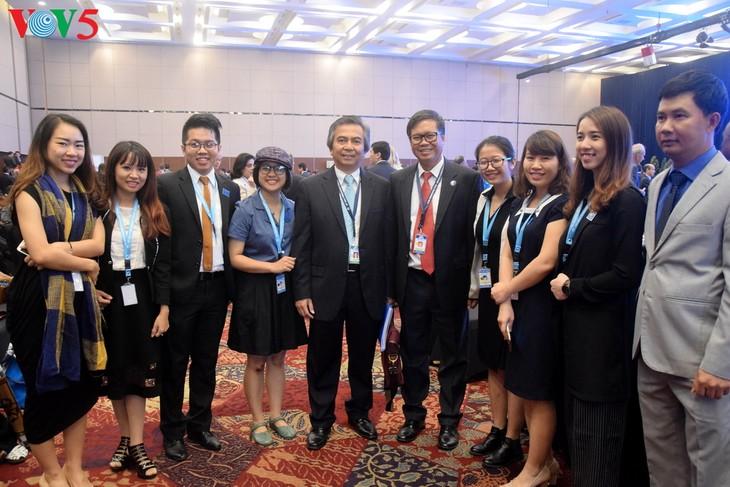 Forum  Demokrasi Bali  yang ke-10 dibuka di Banten, Indonesia - ảnh 2