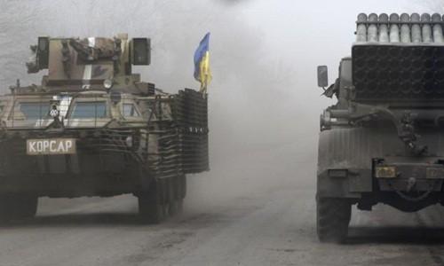 Режим прекращения огня нарушен на востоке Украины - ảnh 1