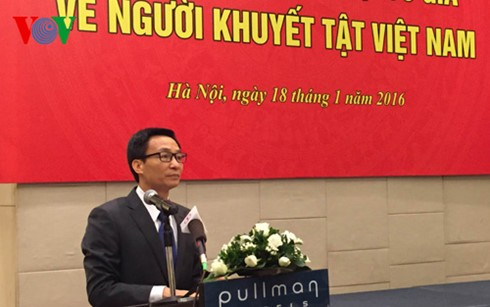 Состоялась презентация Государственного комитета по делам инвалидов Вьетнама - ảnh 1