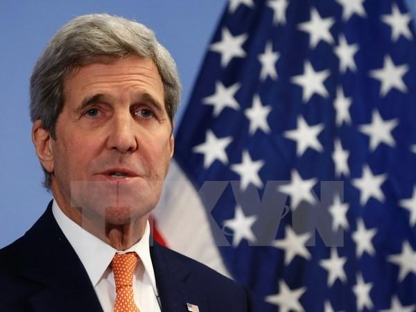 Госсекретарь США Джон Керри прибыл в Камбоджу с визитом - ảnh 1