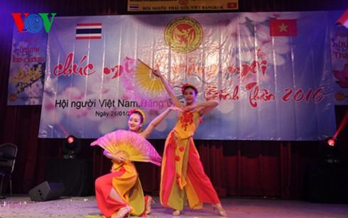Вьетнамцы в Таиланде встречают Новый год по лунному календарю - ảnh 1