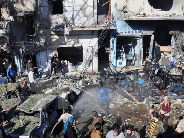 В Сирии произошел двойной теракт - ảnh 1