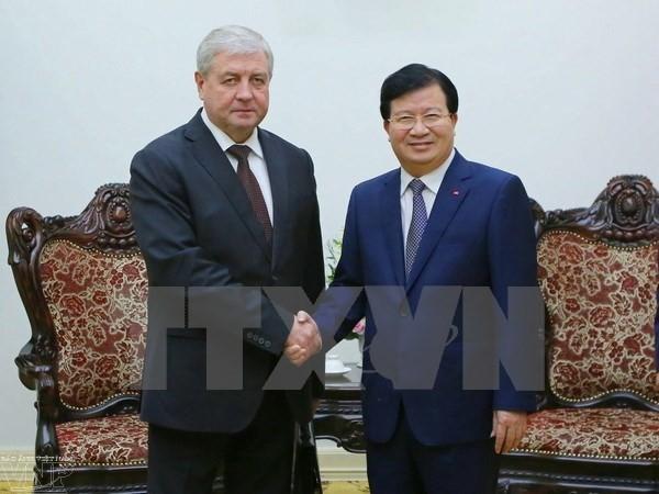 Заместитель Премьер-министра Беларуси посетил Вьетнам с визитом - ảnh 1