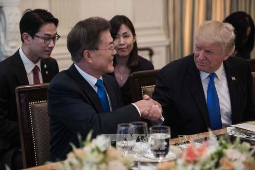 КНДР призвала Южную Корею отказаться от вмешательства США в межкорейские отношения  - ảnh 1