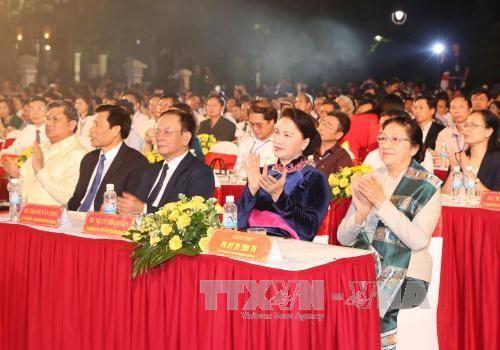 Открылся праздник культуры, спорта и туризма пограничных районов Вьетнама и Лаоса - ảnh 1