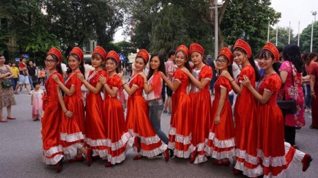Русские мелодии в центре Ханоя - ảnh 3