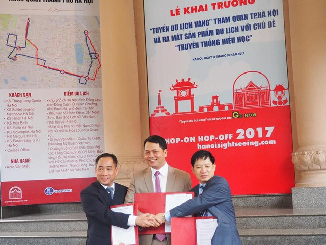 Открытие «Золотого туристического маршрута» в Ханое - ảnh 1