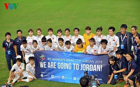 Азиатская конфедерация футбола прославляет женскую сборную Вьетнама  - ảnh 1