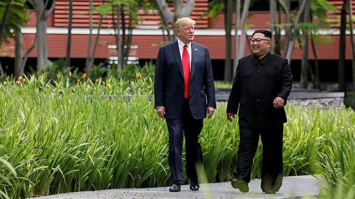 Президент США заявил, что больше не видит ядерной угрозы со стороны КНДР - ảnh 1