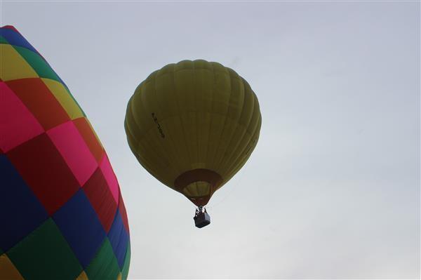 热气球首次在木州高原上飘飞 - ảnh 1