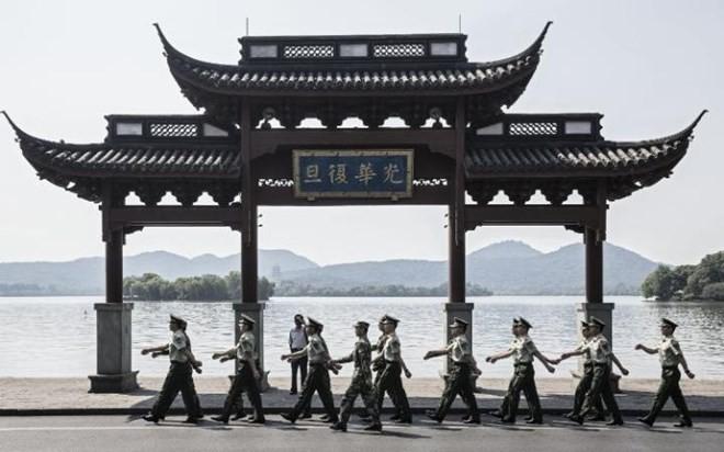 中国为G20峰会采取严密安保措施 - ảnh 1