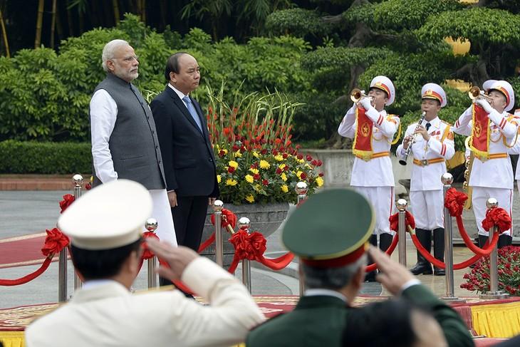 越南与印度发表联合声明 - ảnh 1