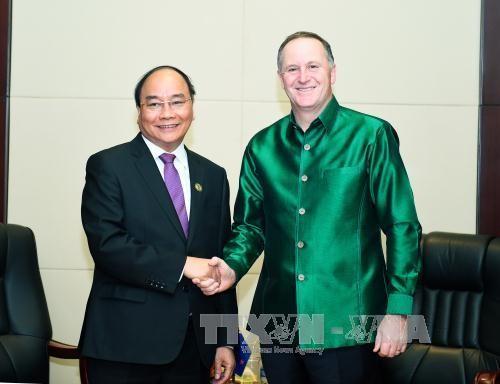 越南和新西兰推动全面伙伴关系在所有领域发展 - ảnh 1
